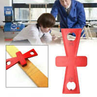 2pcs Ruler Woodworking Dovetail Marker Hand Cut Wood Joint Gauge Guide Tool