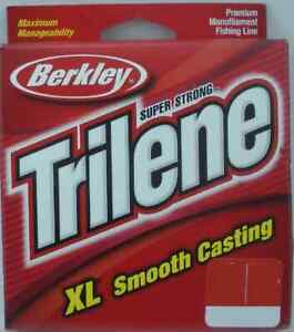 Berkley XLPS10-22 10Lb Trilene XL Monofilament Line 110 Yd Pony SpoolGreen