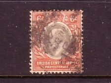 BRITISH CENTRAL AFRICA....  1907  6d used, wmk multi CrCA, Sg71....cv £48