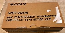 Sony WRT-820A Wireless Body Pack Transmitter WRT820 BRAND NEW in box w/paperwork