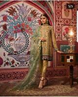 Pakistani Maria B Wedding Dress Mehndi Collection Designer Suit Shalwar Kameez