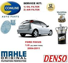 FOR FORD FOCUS 1.6 2005-2011 NEW OIL AIR FILTER SERVICE KIT