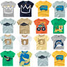 Summer Casual Infant Baby Kid Boy Girl T Shirts Cotton Tops Outfit Daily Clothes