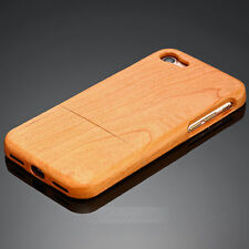 Natural Bamboo Real Wood Hard Back Case Cover Protector for iPhone 7 7 Plus 5.5