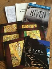 Riven: The Sequel to Myst - PC Game. 5 Discs + Unauthorised game secrets