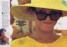 COUPURE DE PRESSE CLIPPING 1983 Sophie Marceau (4 pa) à 17 ans nouveau sourire