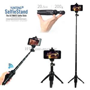 3in1 Bluetooth Monopod Selfie Stick Tripod For Samsung Galaxy S9 Plus S10 Note 9