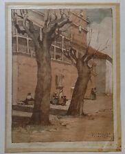 PAIR Isabelle Clark Percy West Original Lithographs Spain