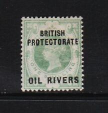 Niger Coast - Oil Rivers #6 mint, cat. $ 77.50