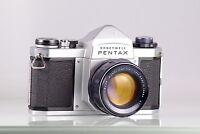 PRECIOSA CLASICA HEILAND HONEYWELL PENTAX H3V 1.8/55 55mm f1.8 M42 EXCELLENT