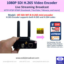 SDI 1080P Camera-top WiFi H.265 encoder RTMP to Facebook YouTube live streaming