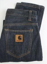 CARHARTT BUCCANEER PANT Men's W30/~L30* Tapered Slim Dark Blue Jeans 23179-JS