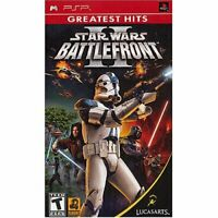 Star Wars Battlefront II Greatest Hits Sony For PSP UMD 7E