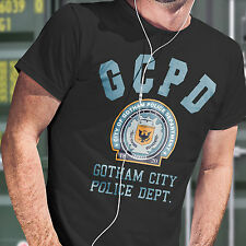 GCPD - Gotham City Police Department T Shirt  Unisex Free Dispatch within 1 Day