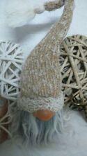 Figuritas de Navidad beige sin marca