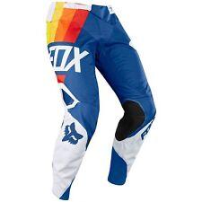 Fox Clothing 360 DRAFTR Motocross Pants Blue - Size 34 19419-002-34
