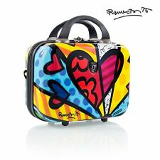 Heys Britto Beauty Case A New Day Travel Bag Cosmetic Toiletry Tote Hardcase