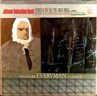 SEALED VANGUARD JS Bach CANTATAS #80 #104 VANDERNOOT Giebel LEWIS SRV-219SD