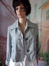 TRIPLE FIVE SOUL  Veste fantaisie coton T.40 Valeur 125€