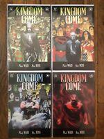 DC Kingdom Come. Complete 4 issue set. Wonder Woman Eagle Armor!