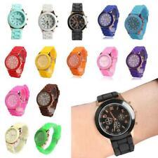 Niños Adultos Silicona Gel Reloj Infantil Mujeres Unisex para Hombre Caramelo