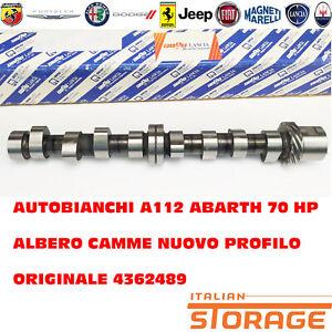 AUTOBIANCHI A112 ABARTH 70 HP ALBERO CAMME NUOVO PROFILO ORIGINALE 4362489