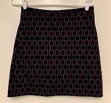 EP Pro Tour Tech Women's Sz 0 Tennis Golf Skirt Skort Undershorts Black Print