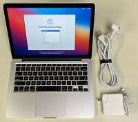 "Apple MacBook Pro 13"" A1502 2.6GHz Core i5 16GB RAM 256GB SSD 11 Big Sur"
