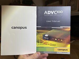 Canopus (Year 2004) ADVC100 Advaced Digital Video Converter - RARE