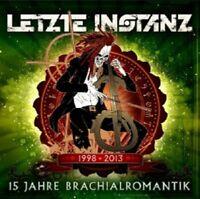 LETZTE INSTANZ - 15 JAHRE BRACHIALROMANTIK  CD  19 TRACKS DEUTSCH-ROCK  NEU