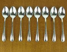 """8 x Demitasse Spoons 4 1/8"""" Birks Regency Plate York silverplate silver"""
