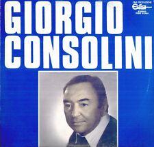 """GIORGIO CONSOLINI """" OMONIMO """" LP NUOVO RCA"""