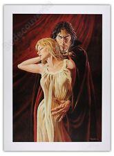 Affiche Swolfs Le Prince de la nuit Vampire Papier glacé 250ex signé 48x65 cm