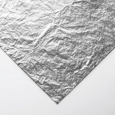 Handover Roll of Imitation Silver Leaf 50 m 40 mm