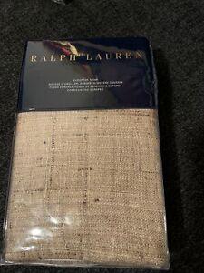 Ralph Lauren Cecily Keeton Tan European Sham Silk Cotton Brown