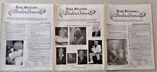3 x Shadowgram: Dark Shadows fanzine - David Selby, Dennis Patrick, Lara Parker