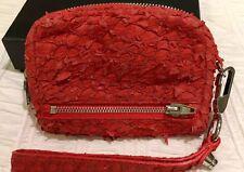 Alexander Wang red perch wallet / purse