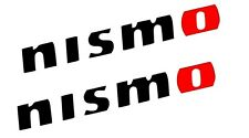 (2) Nismo Decal Sticker Multiple Color Options