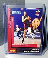Meyers Leonard 2019-2020 Panini NBA Instant Heat #259 Basketball Card 1 of 303
