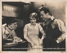 CLARA BOW & STANLEY SMITH in ''Love Among the Millonaires'' Orig. LOBBY CARD 193