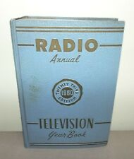 1960 RADIO ANNUAL TELEVISION YEARBOOK