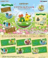Re-Ment Pokemon Terrarium Collection 6 All 6 Complete Set JAPAN OFFICIAL IMPORT