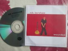 Nik Kershaw ‎– Wounded Label: Eagle Records ‎UK Promo CD Single