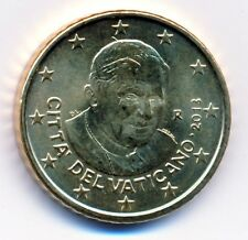 Vatikan 2013 Euro-Kursmünze 50 Cent Papst Benedikt XVI unz.-bankfrisch