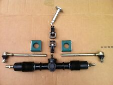 Compact Steering Rack & Pinion Gear.Central Pinion, karts, car& lawn mower racer