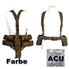 ACU Digi Träger Paintball Pod Weste Camouflage Battlepack für 4 Pods + Flasche