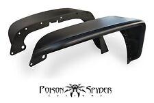 Poison Spyder Front Crusher Flares Standard Width Steel - Black PC 07-17 Jeep JK
