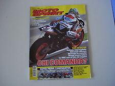 MOTOSPRINT 10/2005 BMW R 850 R/HONDA HORNET/DUCATI MONSTER/MV AGUSTA F4 BRUTALE