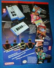 Nintendo 4 Score NES Promo Poster