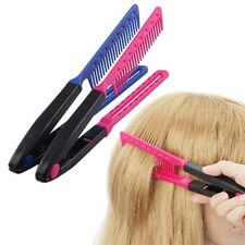 Professional V-Type Hair Straightener Comb DIY Salon Hairdressing Styling Tools;